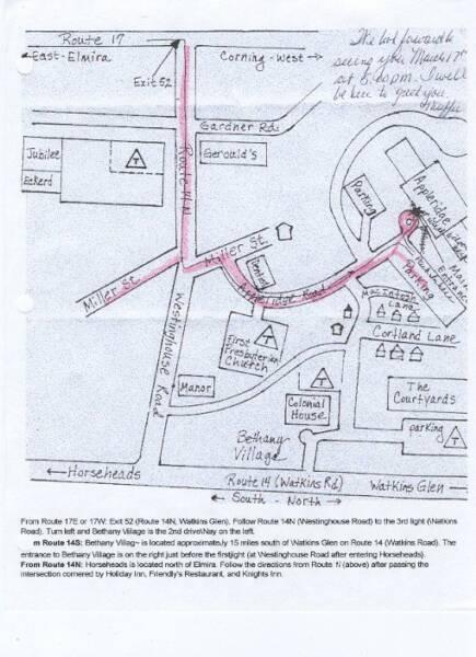 Roc Maps Lineups